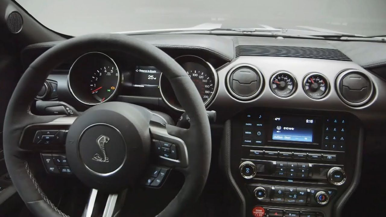 New 2015 Ford Mustang Shelby Gt350 Interior Whitemarshford Ford