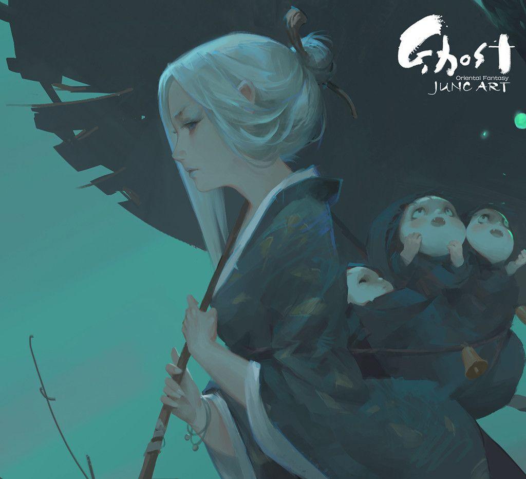 ArtStation - Ghost night, Wenjun Lin