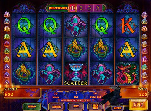 Five line mystery игровой автомат