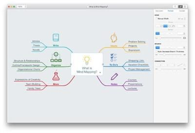 delightful mind mapping for your mac ipad and iphone - Osx Mind Mapping