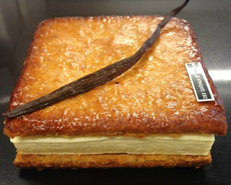 Pierre Herm 233 Patisserie French Pastries Mille Feuille