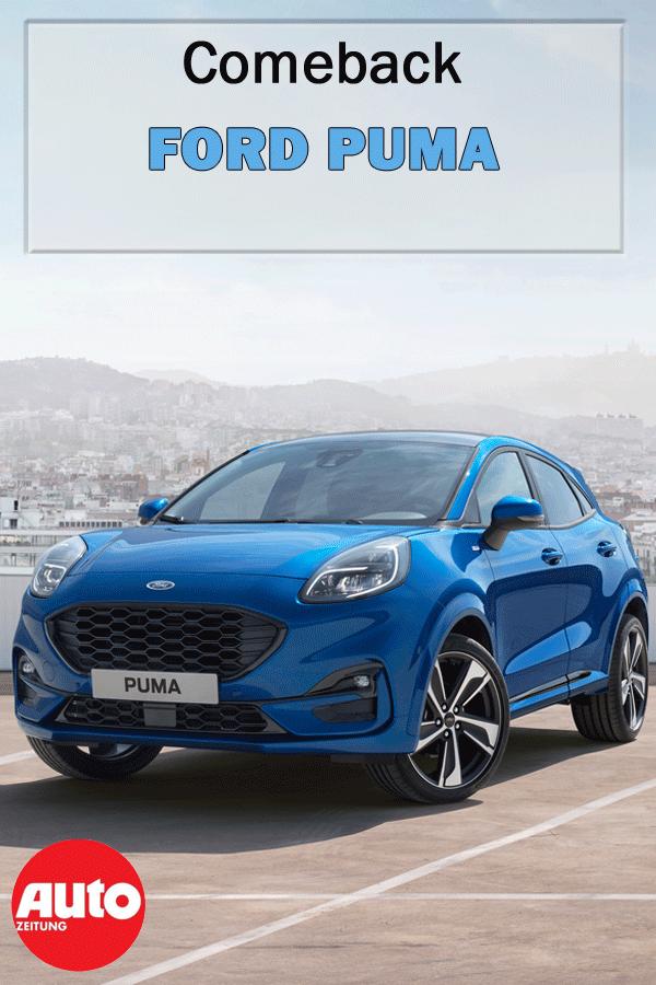 Ford Puma 2019 Hybrid Preis St Line Automatik Autozeitung De Ford Puma Ford Puma
