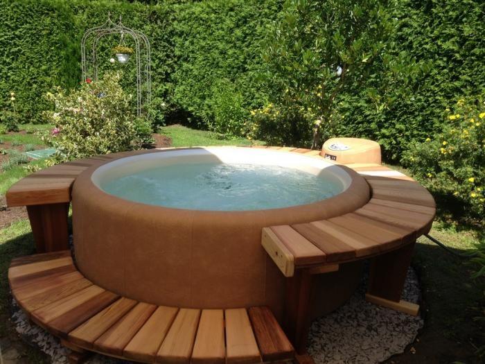 Softub Whirlpools Whirlpool Terrasse Whirlpool Garten Whirlpool