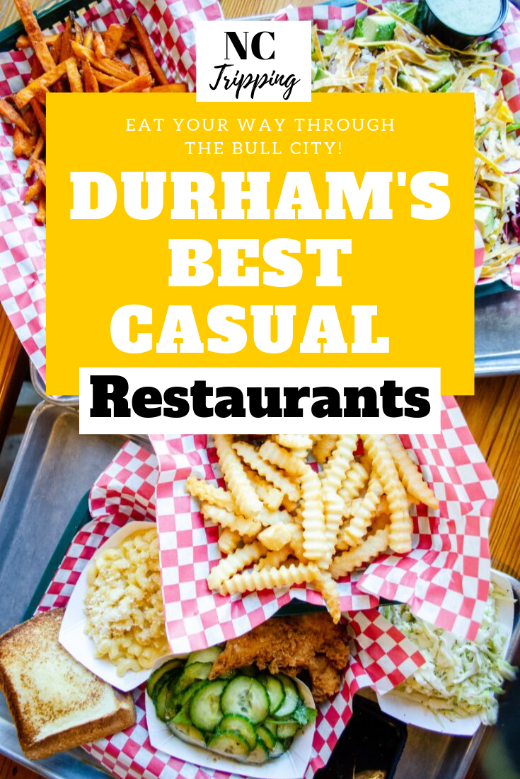 Durham Is Home To Some Of The Best Restaurants In North Carolina Check Out This List To Eat Your Way Through So Travel Eating Casual Restaurants Carolina Food