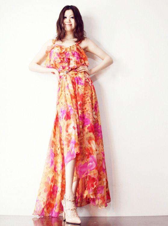 Vestidos Largos Estampados - Para Más Información Ingresa en: http://vestidosdenochecortos.com/vestidos-largos-estampados/