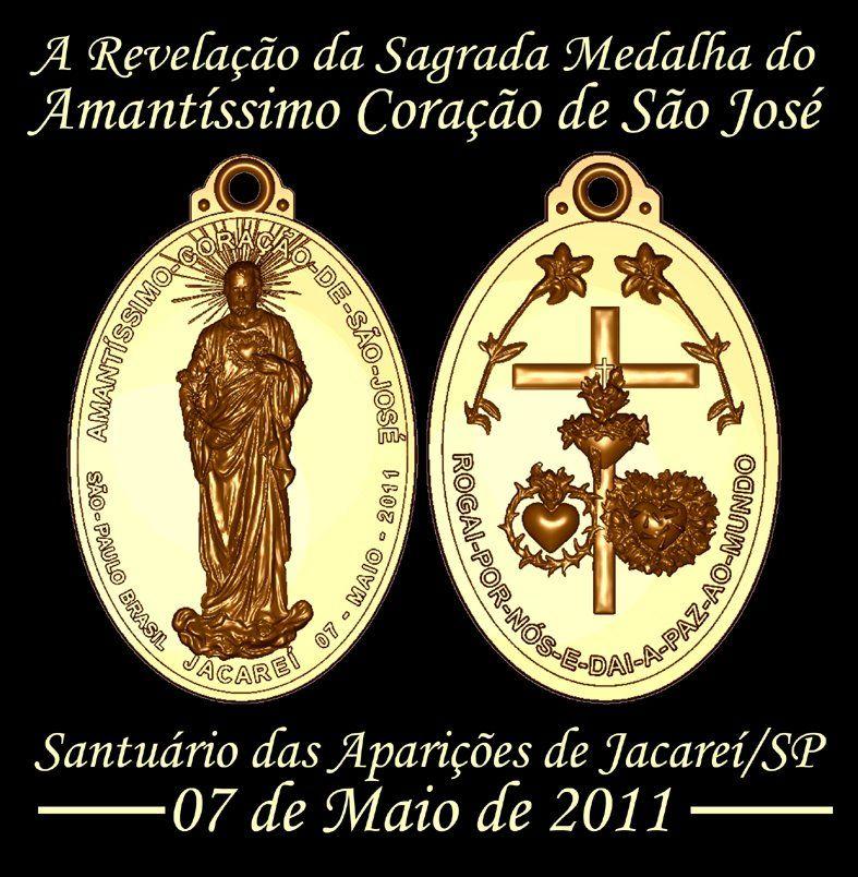 La Medalla de San José de Jacareí, Brasil.