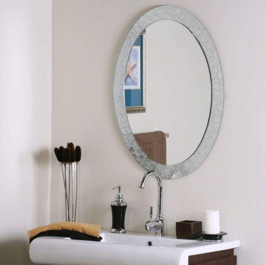 4 X 5 Wall Mirror Ovaler Badezimmerspiegel Badezimmerspiegel