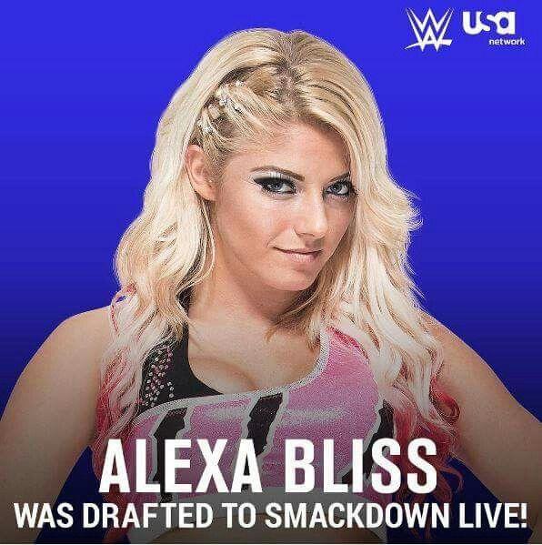 Image result for alexa bliss smackdown live draft