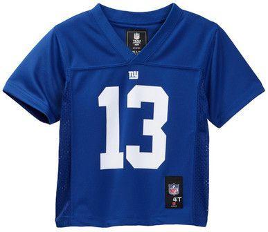 newest f3f9e 2c12e NFL Logos NY Giants Odell Beckham Jr. Jersey (Toddler Boys ...