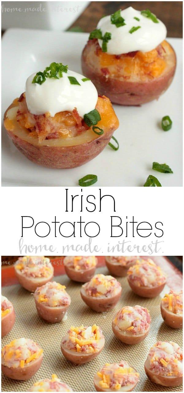 Irish Potato Bites   Home. Made. Interest.