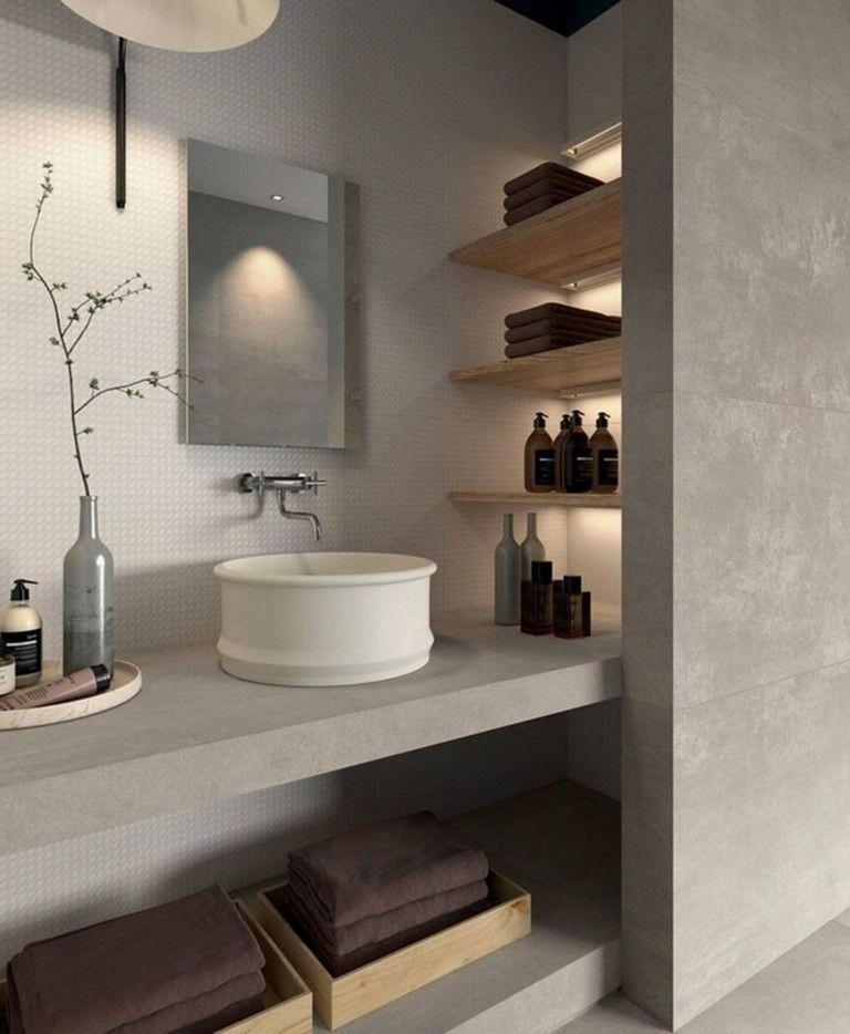 46 Exciting Tadelakt Bathroom Design Ideas For Awesome Bathroom Bathrooms Bathroomdes Bathroom Interior Design Bathroom Accessories Design Bathroom Interior