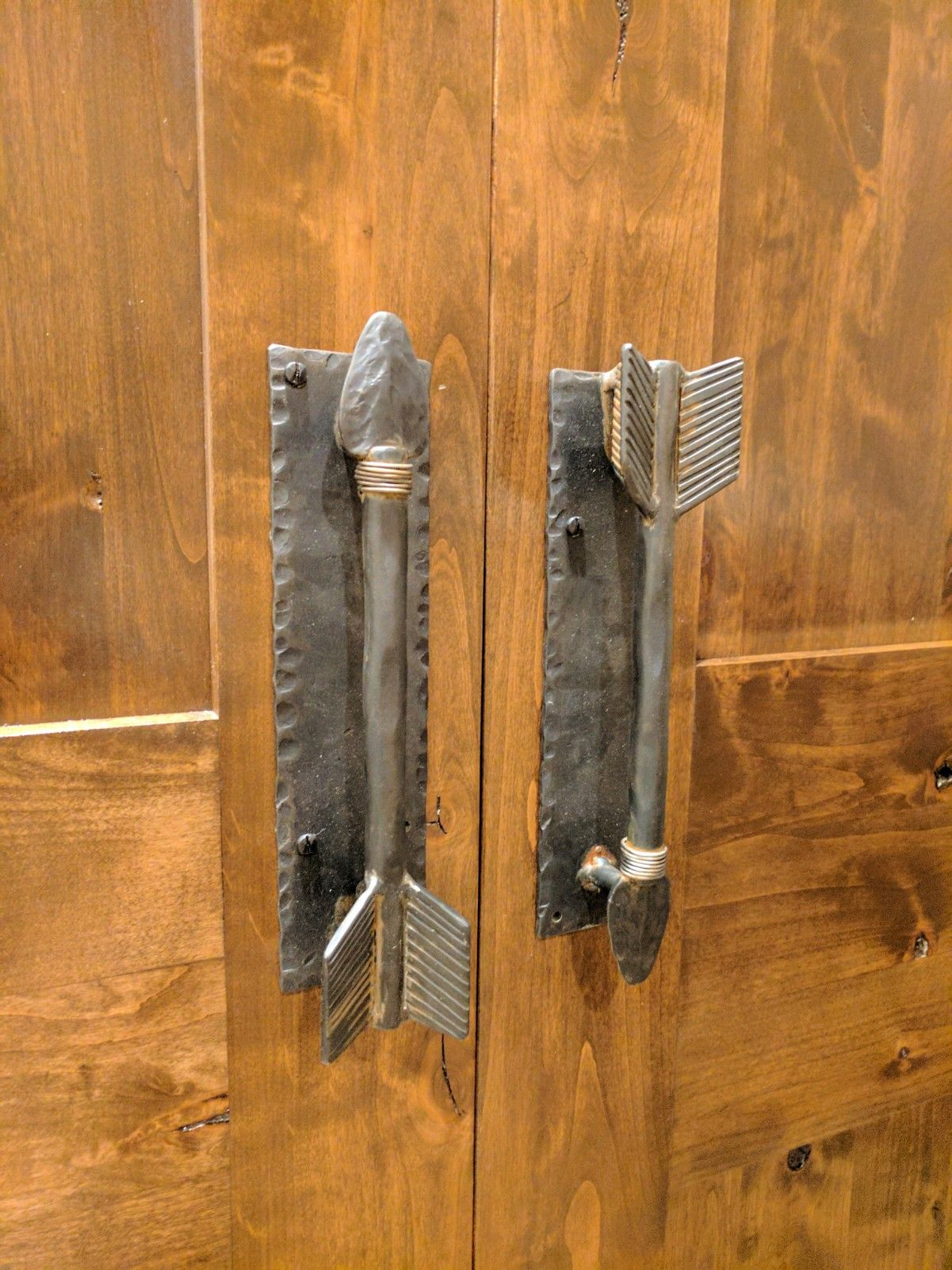 Hdp 304 Authentic Arrowhead Door Pull Southwestern Doors Door