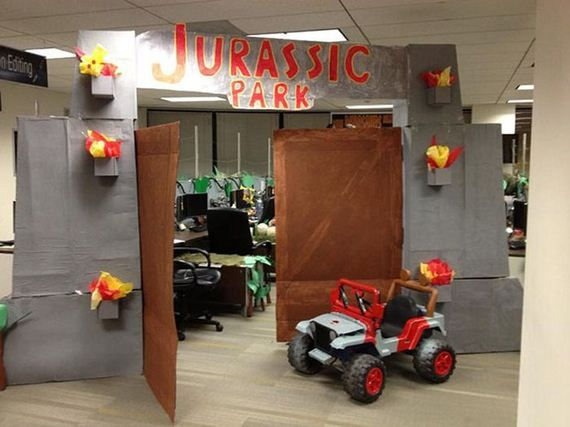 jurassic park decorations - Google Search  Jurassic park party