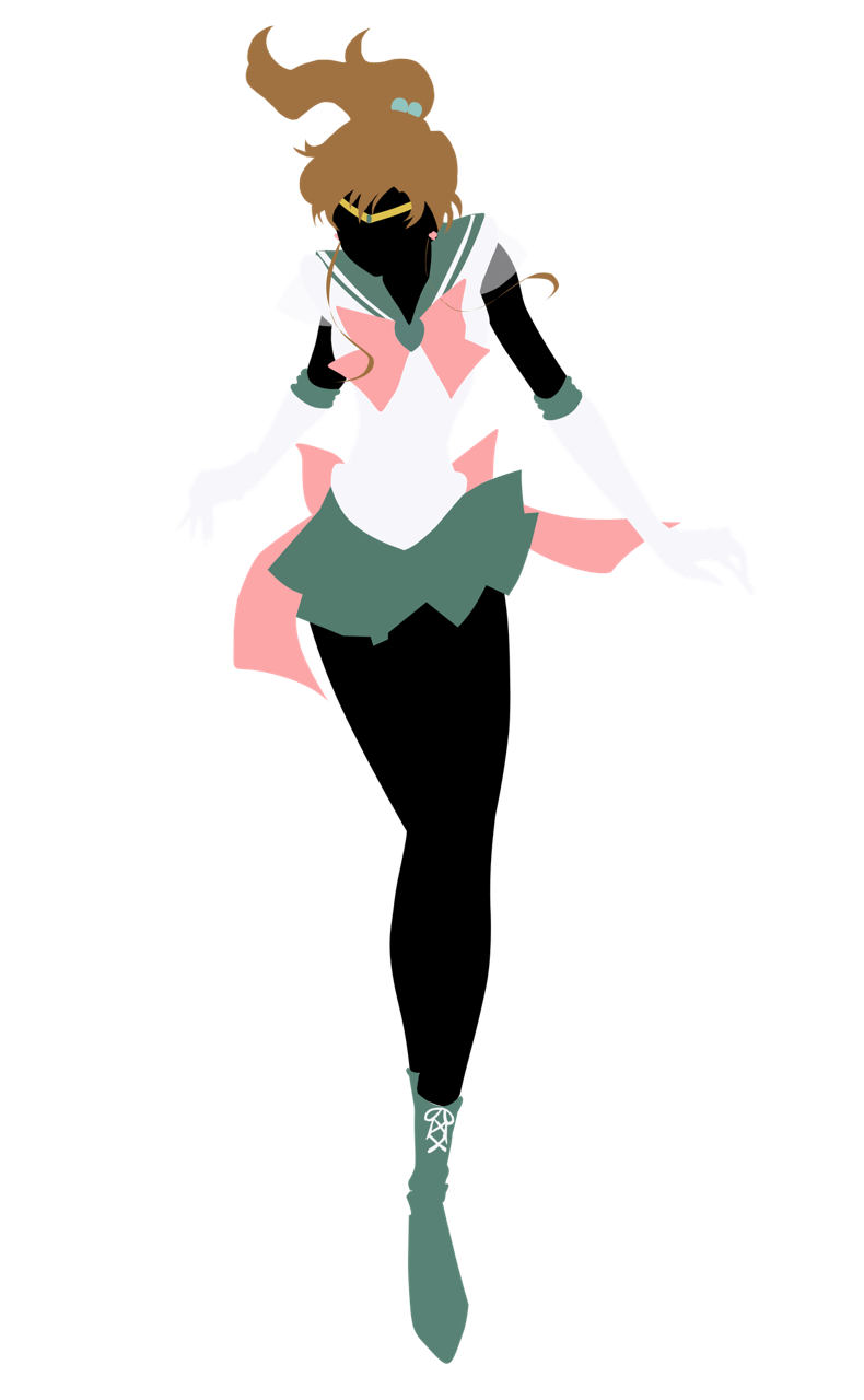 Sailor Jupiter / Silueta - PNG | Sailor Moon - Png | Pinterest ...