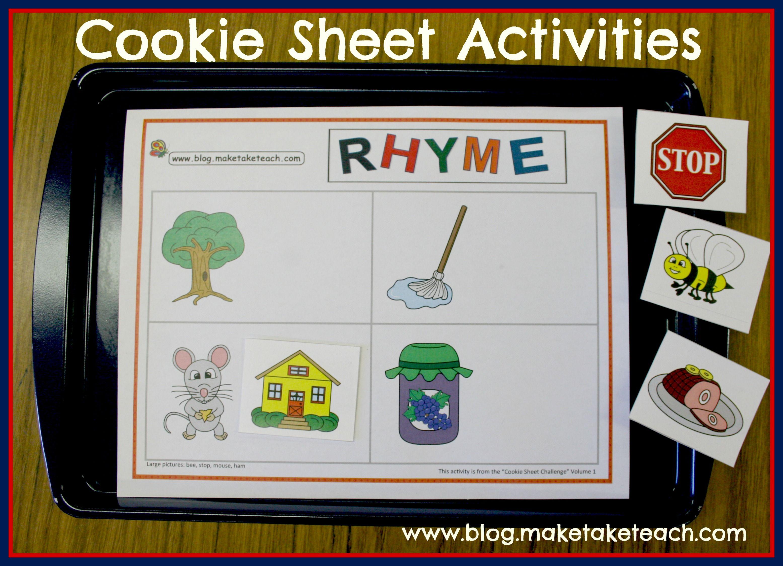 Worksheet Rhyming Activities Preschool 1000 images about class lit word families on pinterest
