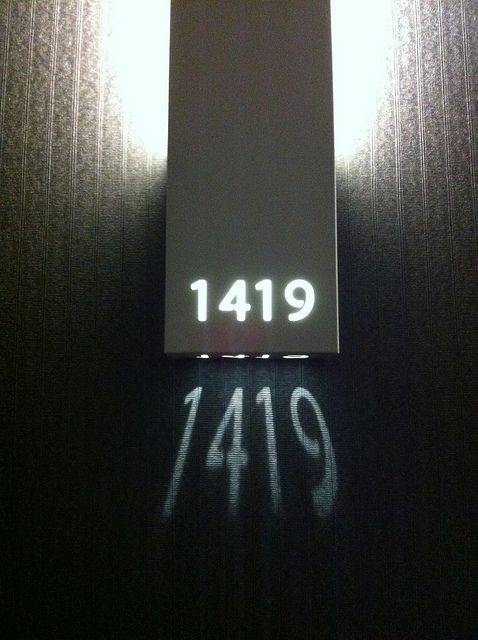 Image result for hotel room number shadow