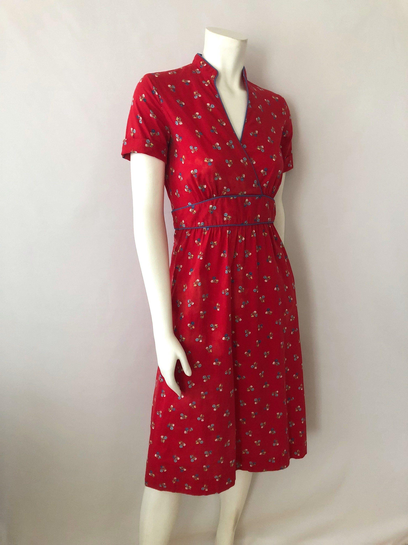 557f212b4c7 Vintage Women s 80 s Red