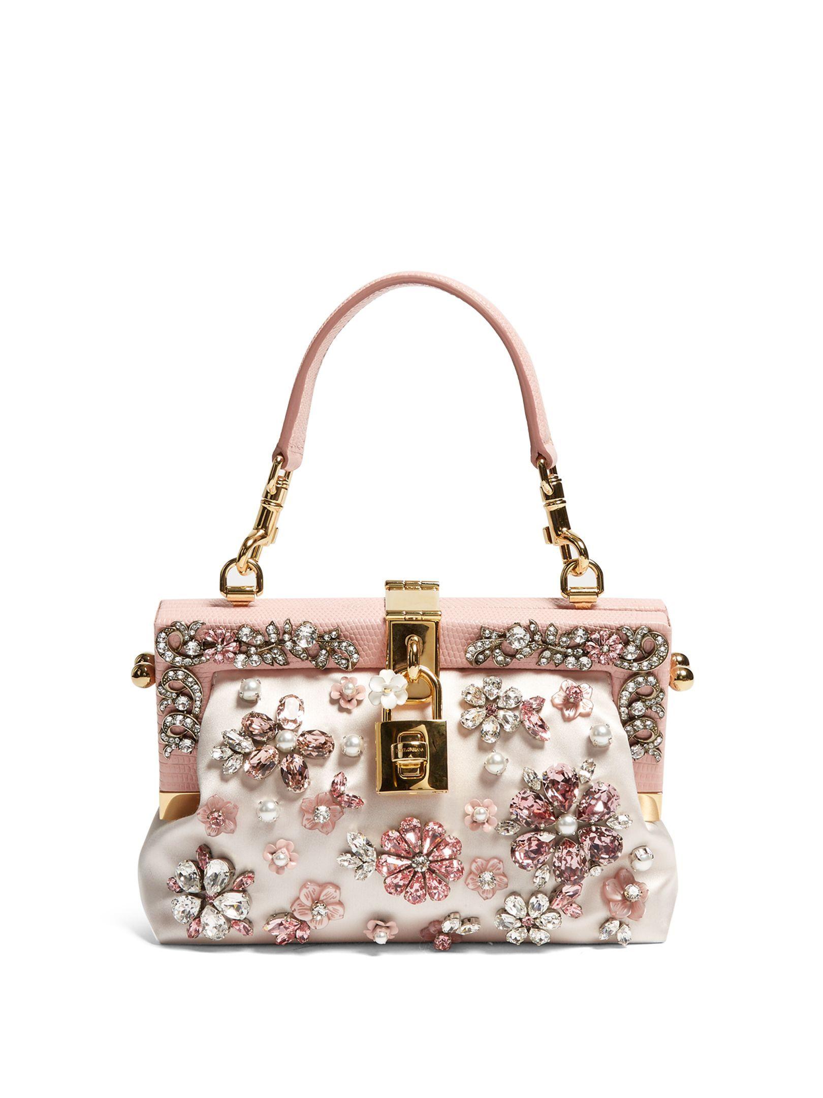 Crystal-embellished satin bag  d8cf428a06590