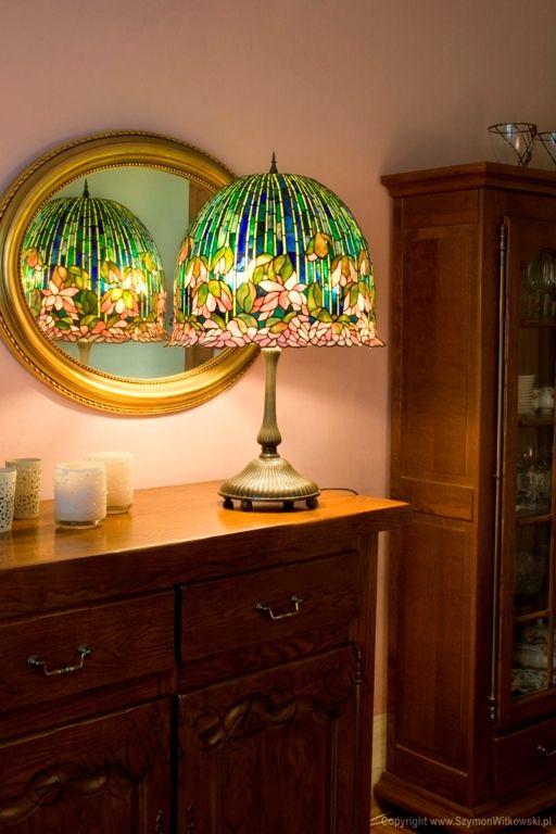 Louis comfort tiffany flowering lotus table lamp handcrafted by louis comfort tiffany flowering lotus table lamp handcrafted by wieniawa piasecki workshop aloadofball Gallery
