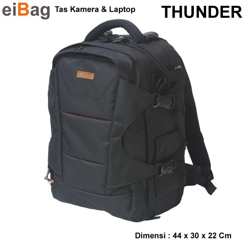 Jual tas kamera murah dan laptop model backpack kode THUNDER yang bisa muat  1-2 b080f0d967
