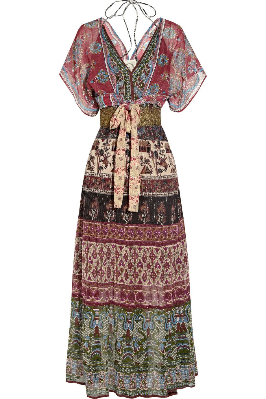 One vintage presents an artisan take on a usstyle maxi dress in