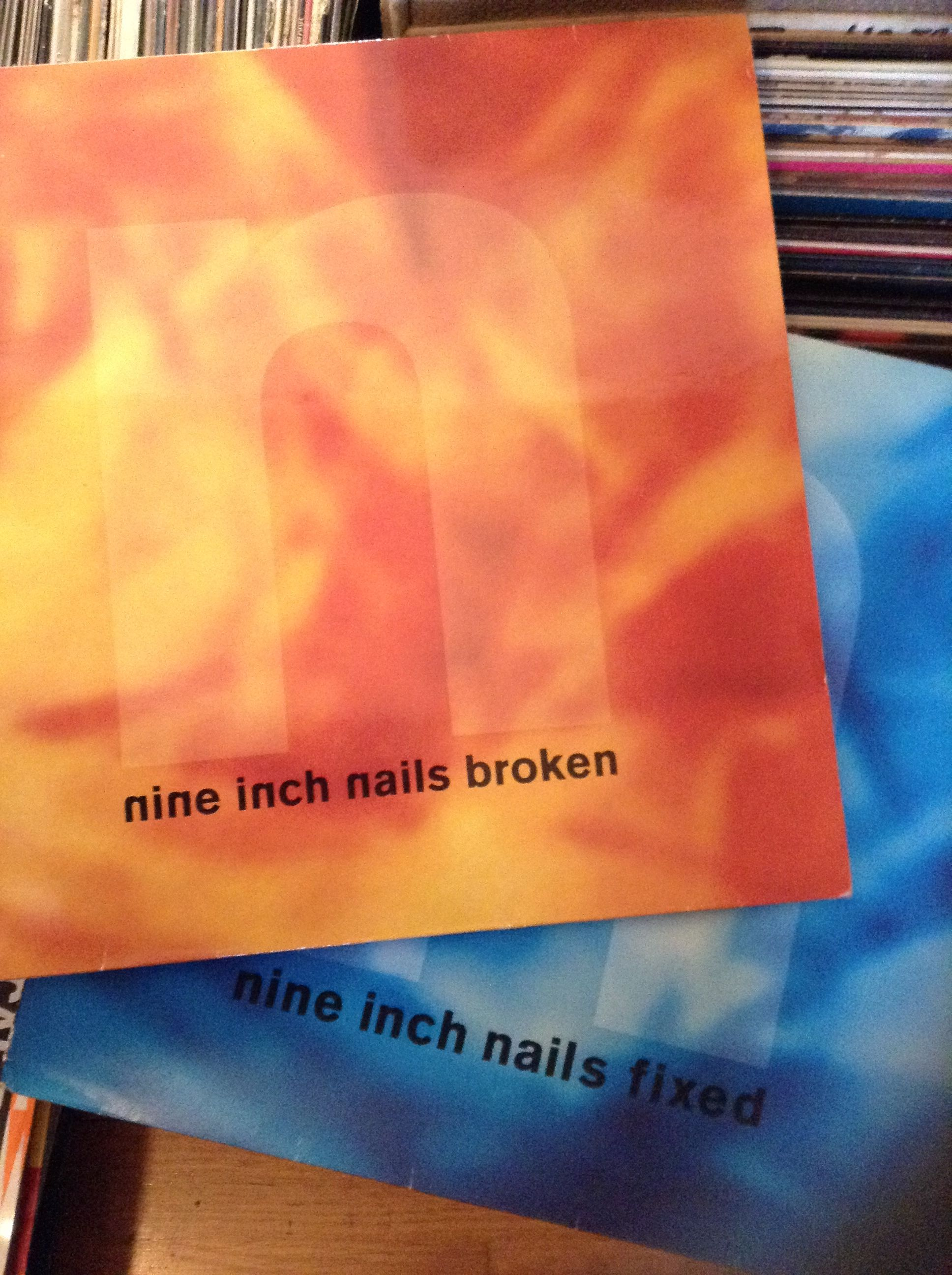 Fixed and Broken by Nine Inch Nails. | NIN | Pinterest | Record ...