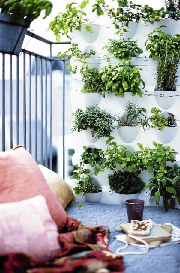 Balkon Mit Kleinen Garten | Balkon | Pinterest | Garten Vertikale Garten Ideen Garten Balkon