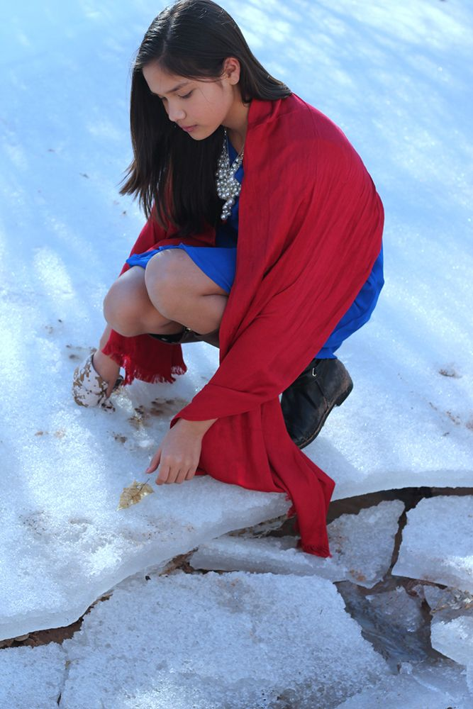 Macy - Cherokee Nation Moving Photos Show Native American Children Defending The Earth