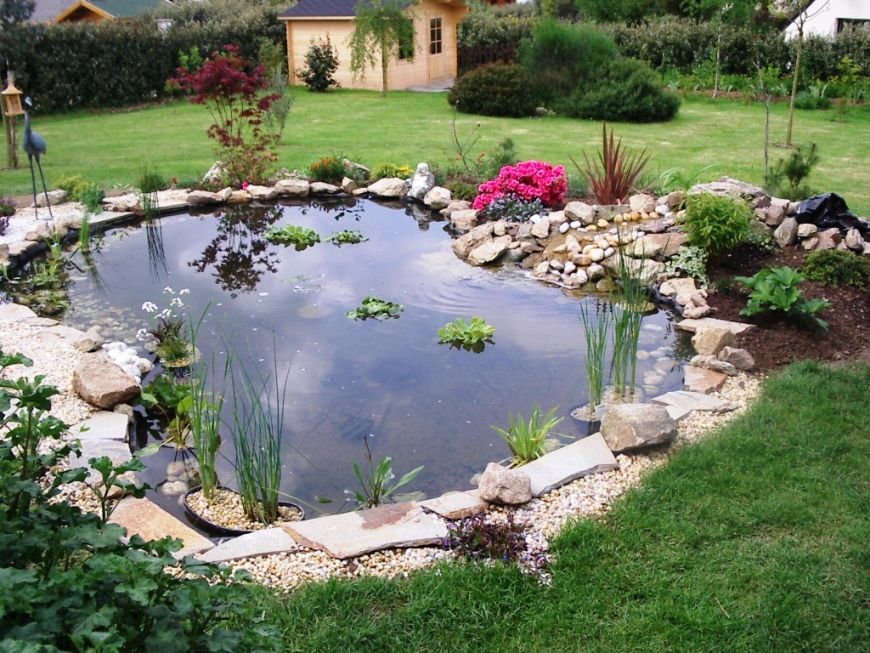 Photos de bassins de jardin recherche google great for Recherche bache pour bassin