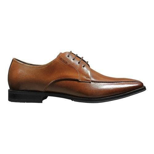 Stacy Adams Logan Bicycle Toe Oxford 25132(Men's) -Cognac Smooth Leather 2018 Cheap Price Discount Release Dates Sale Websites 2KV8cWpGR