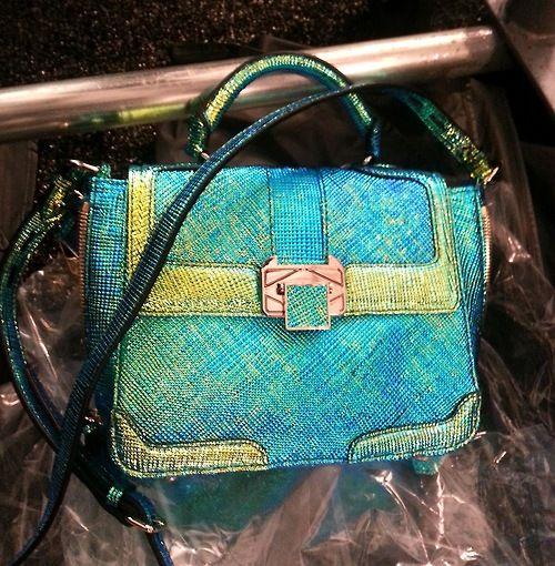 holographic rebecca minkoff bag.
