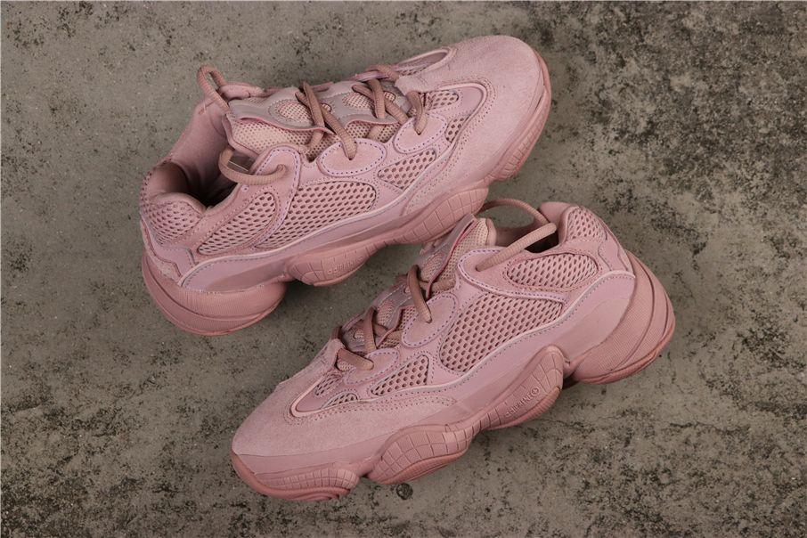 Custom Yeezy 500 Pink in 2020