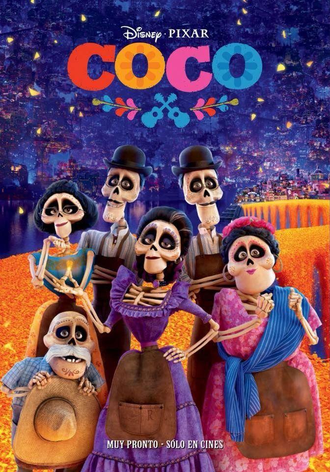 Pin De Channelle Ortiz En Coco 2017 Coco Pelicula Peliculas De Animacion Pinturas Disney