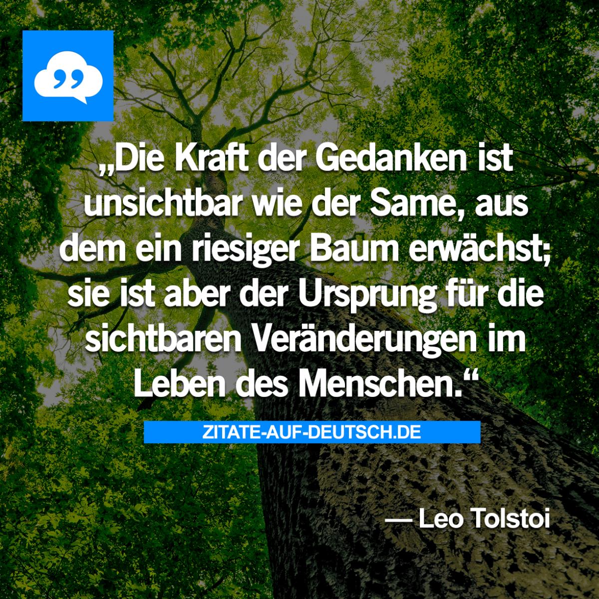 Baum, #Gedanken, #Kraft, #Menschen, #Samen, #Ursprung, #LeoTolstoi