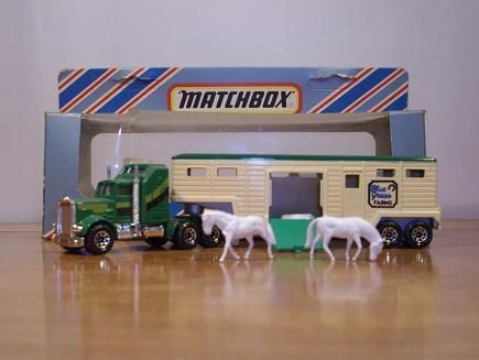 Matchbox Convoys And Other Related Matchbox Same Scale Semi Matchbox Matchbox Cars Metal Toys