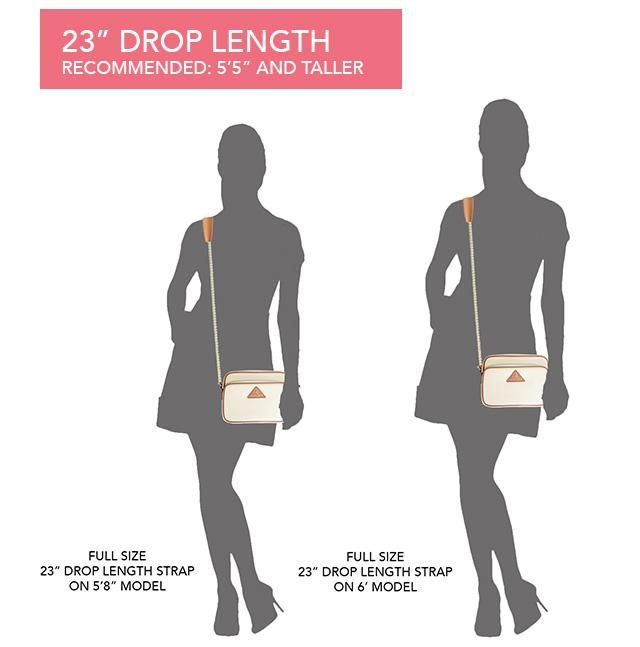 Choosing The Perfect Strap Length Size Guide Diy Bags Pinterest