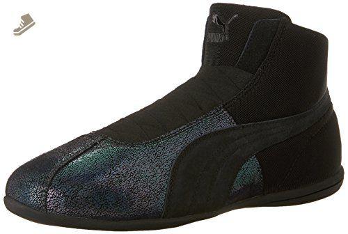 2779681e8099 PUMA Women s Eskiva Mid Deep Summer Black Sneaker 5.5 B (M) - Puma sneakers