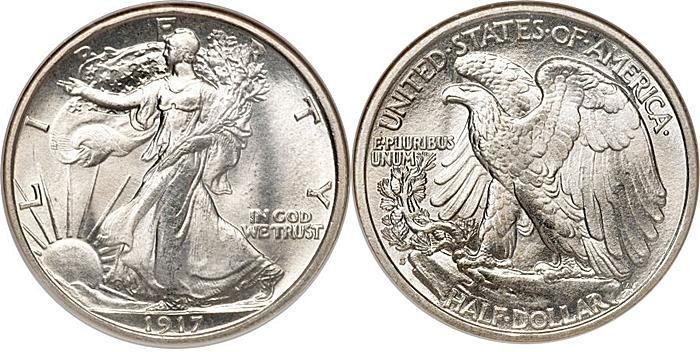 Most valuable Walking Liberty Half Dollar values