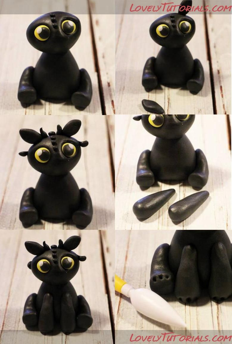 How To Train Your Dragon Cake Topper Figures