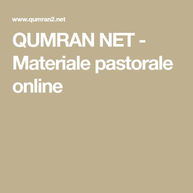 Immagini Natalizie Qumran.Qumran Net Materiale Pastorale Online Cuscinetto Fedi Segno