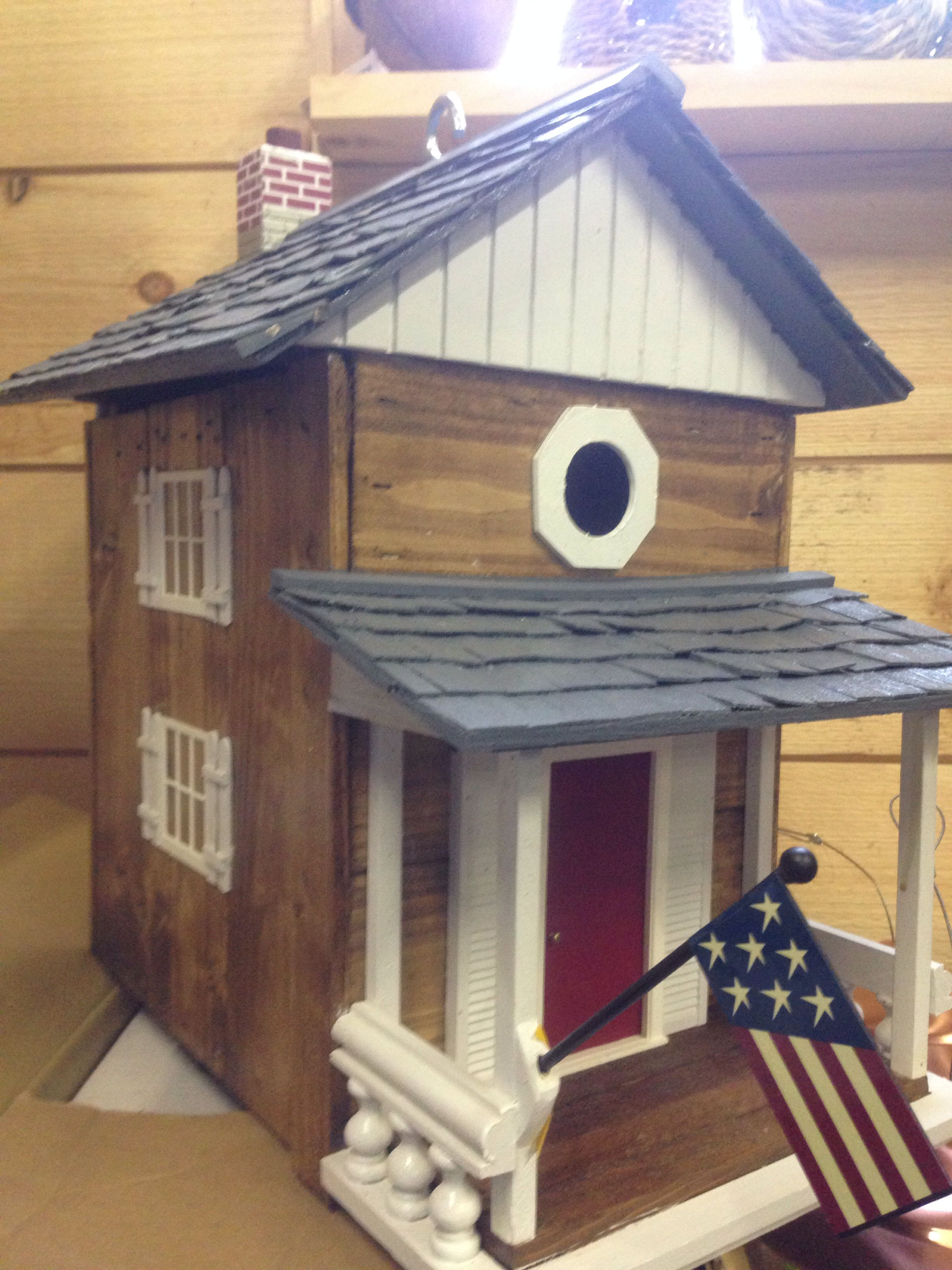 Bird house made by Grandpop Bird house, Outdoor decor