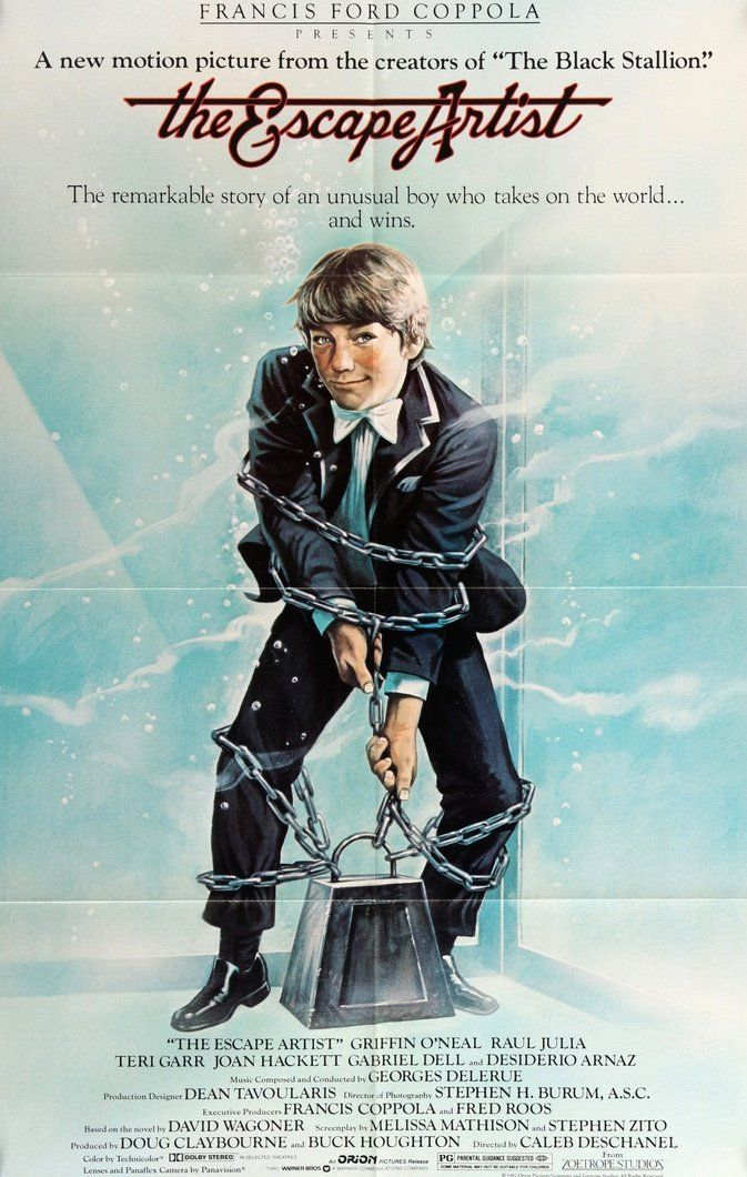 Escape Artist (1982) The artist movie, Artist, Best