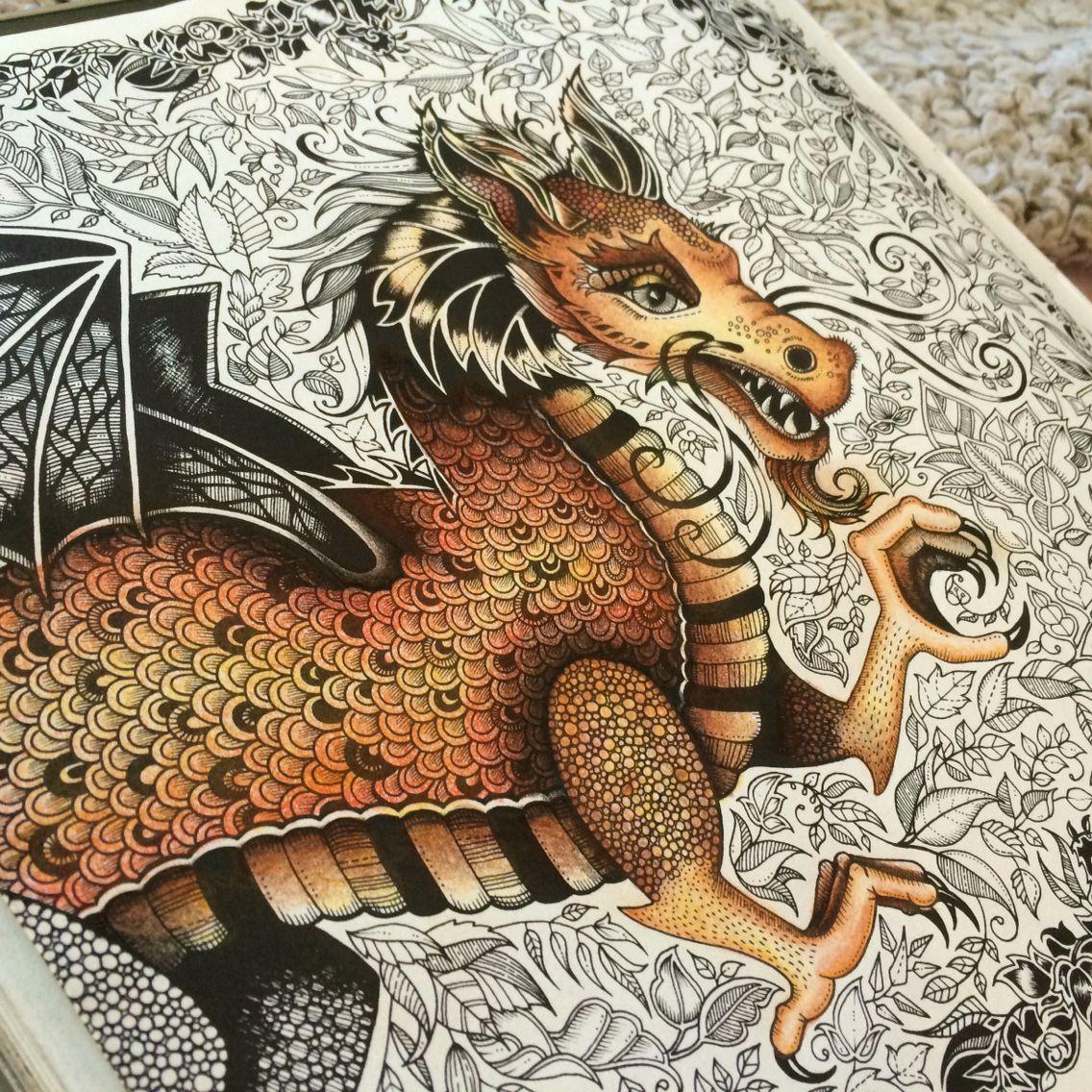 enchanted forest dragon original - photo #3