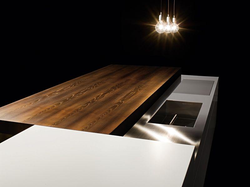 VERVE SLIDING TOP Kitchen by MINIMAL