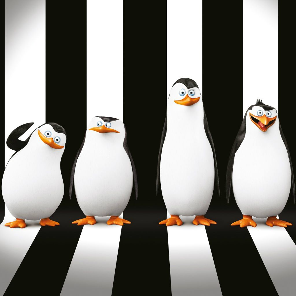 Penguins Of Madagascar Movie Ipad Wallpapers Filme Madagascar