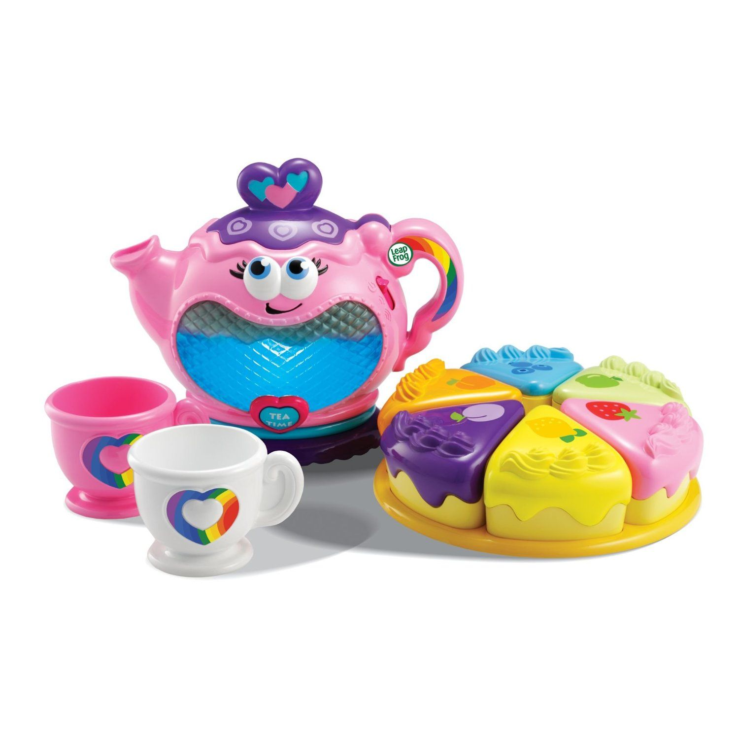The Illuminating LeapFrog Musical Rainbow Tea Party Set