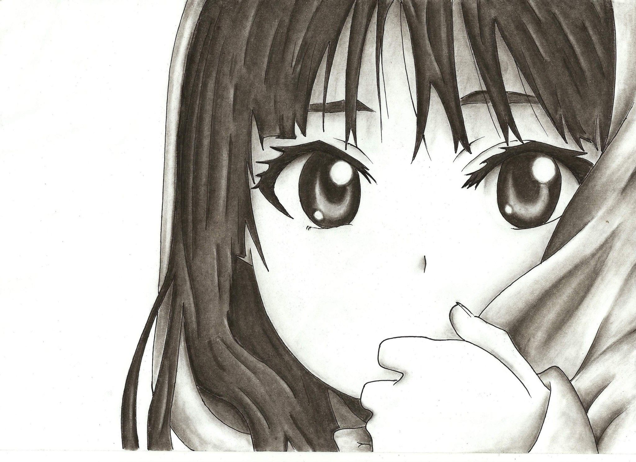 hermoso dibujos de anime