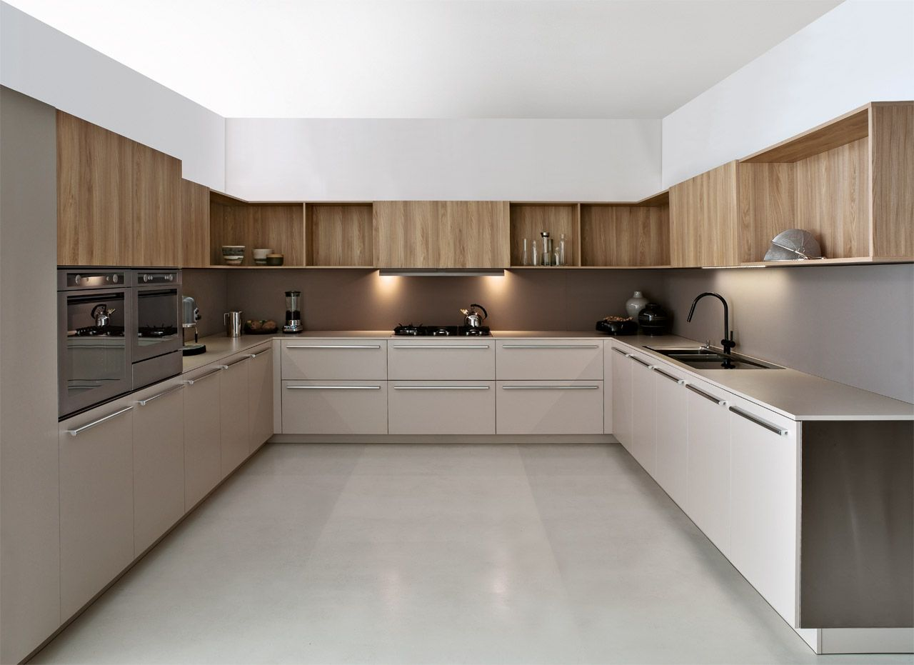Modern modular kitchen designs combine comfort and