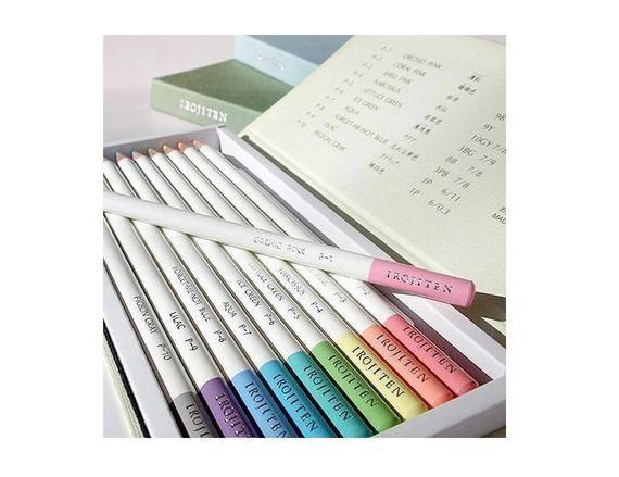 IROJITEN 10 New colour pencil set Tombow
