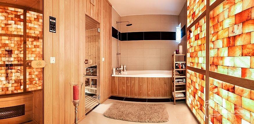 Himalayan Salt Therapy In Bathroom Salt Room Himalayan Salt Room Wellness Design